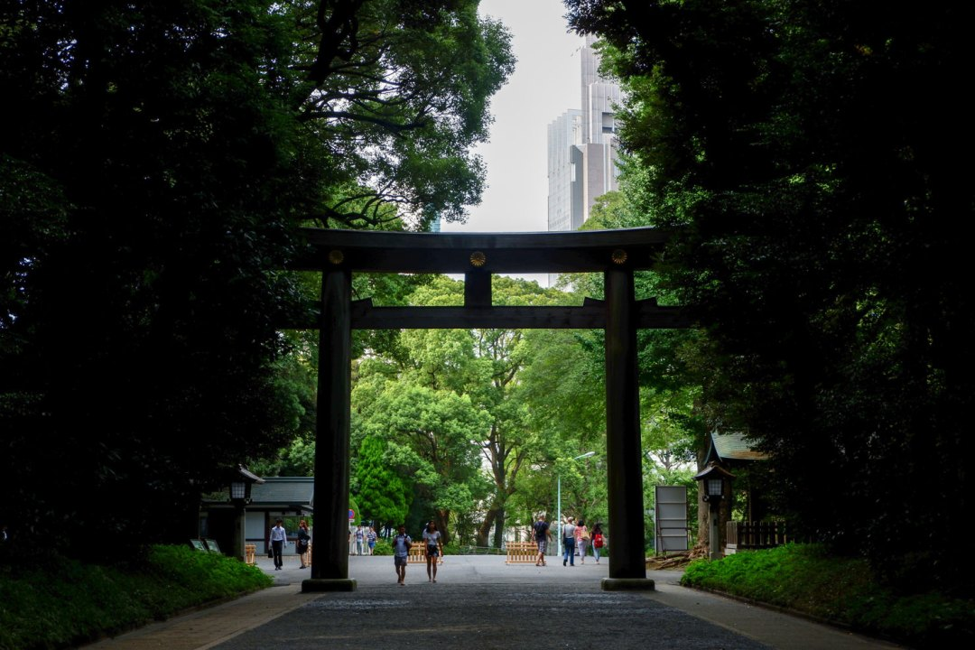 tokyo shrines
