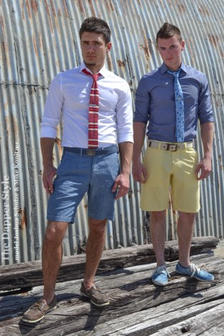 shorts with ties