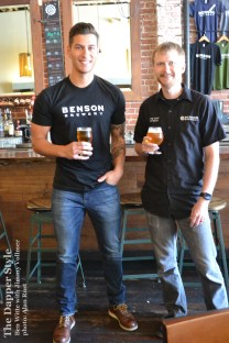 ben witte and jimmy vollmer of benson brewery