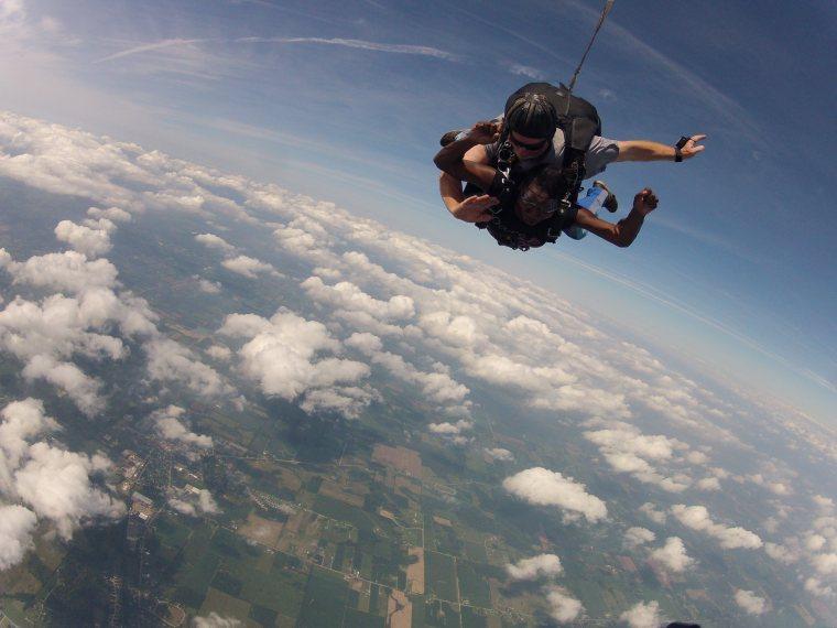 Sheri Skydiving