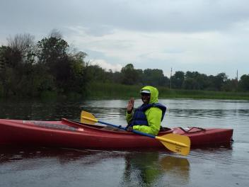 sheri hunter kayaking