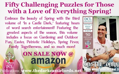 New Release: In a Castle Dark Word Searches Vol. 3