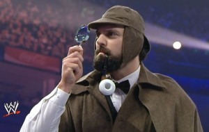 Damien Sandow as Sherlock Holmes