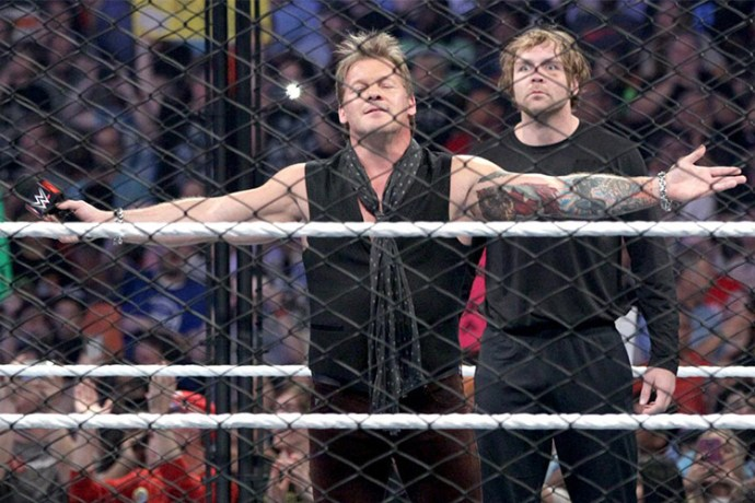 Dean Ambrose checked Chris Jericho into Asylum early Large image-1463755478