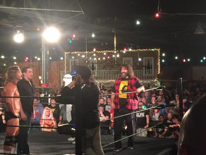 Foley at Mercury Rising on Wrestlemania weekend.