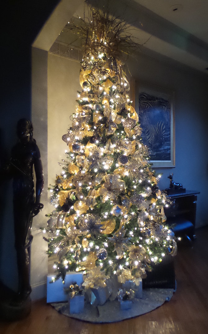 Designer Decorated Christmas Tree