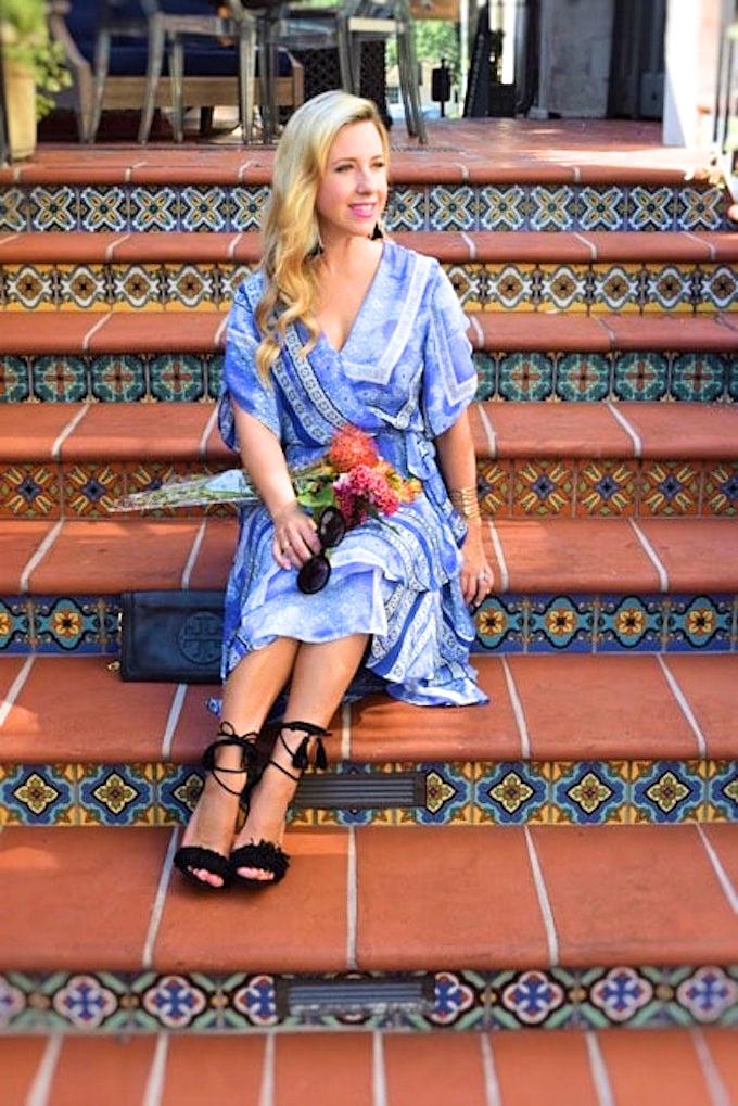 Ruffle blue dress-min_Fotor