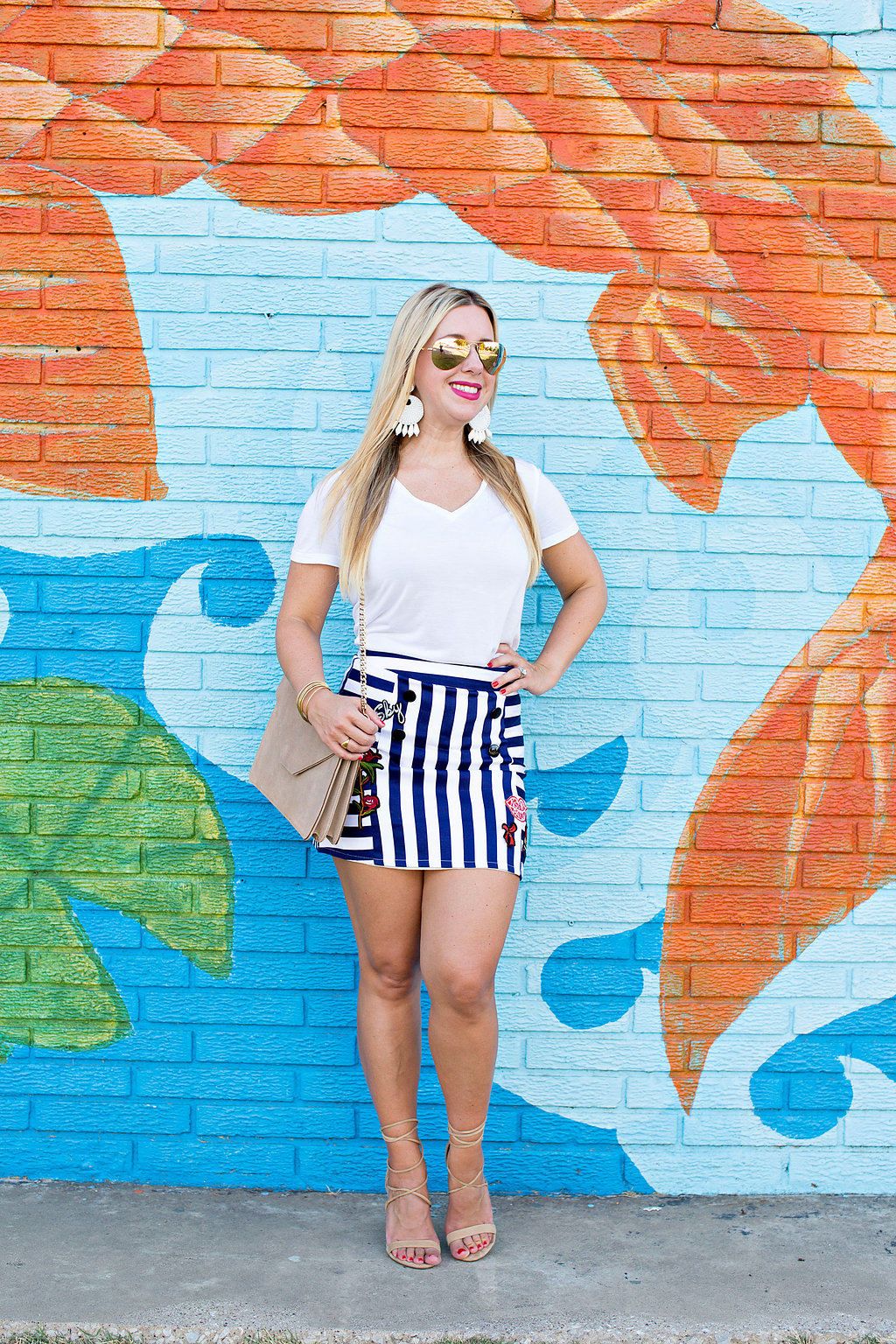 Dallas Fashion Blogger - Patch Skirt