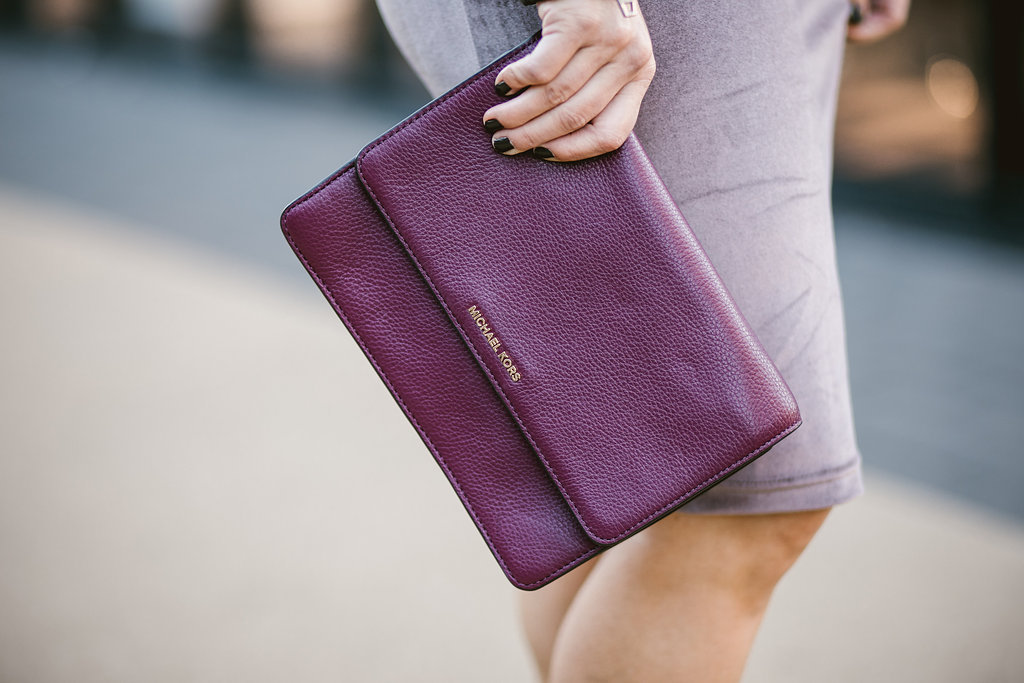 Burgundy Clutch | The Darling Petite Diva Blog
