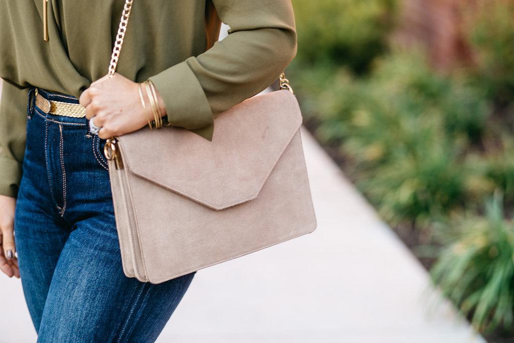 Suede Bag| Clutch | Fall Fashion