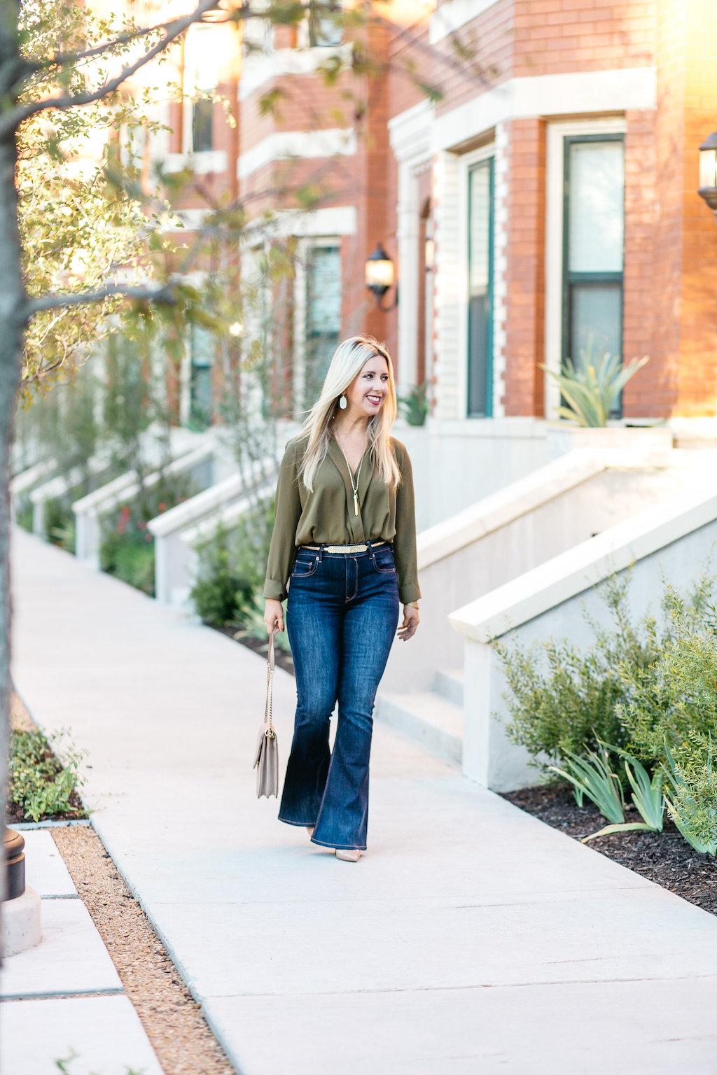 Flares + Bodysuit | Fall | Fashion Blogger
