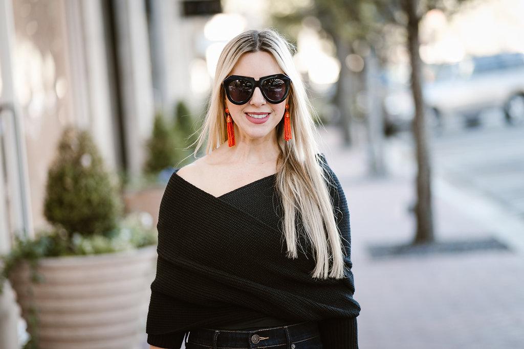 Dallas Blogger | Winter Fashion| Knit Sweater