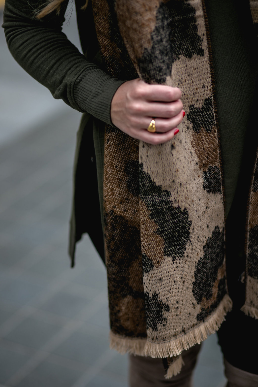 Leopard Scarf | Dallas Fashion Blog