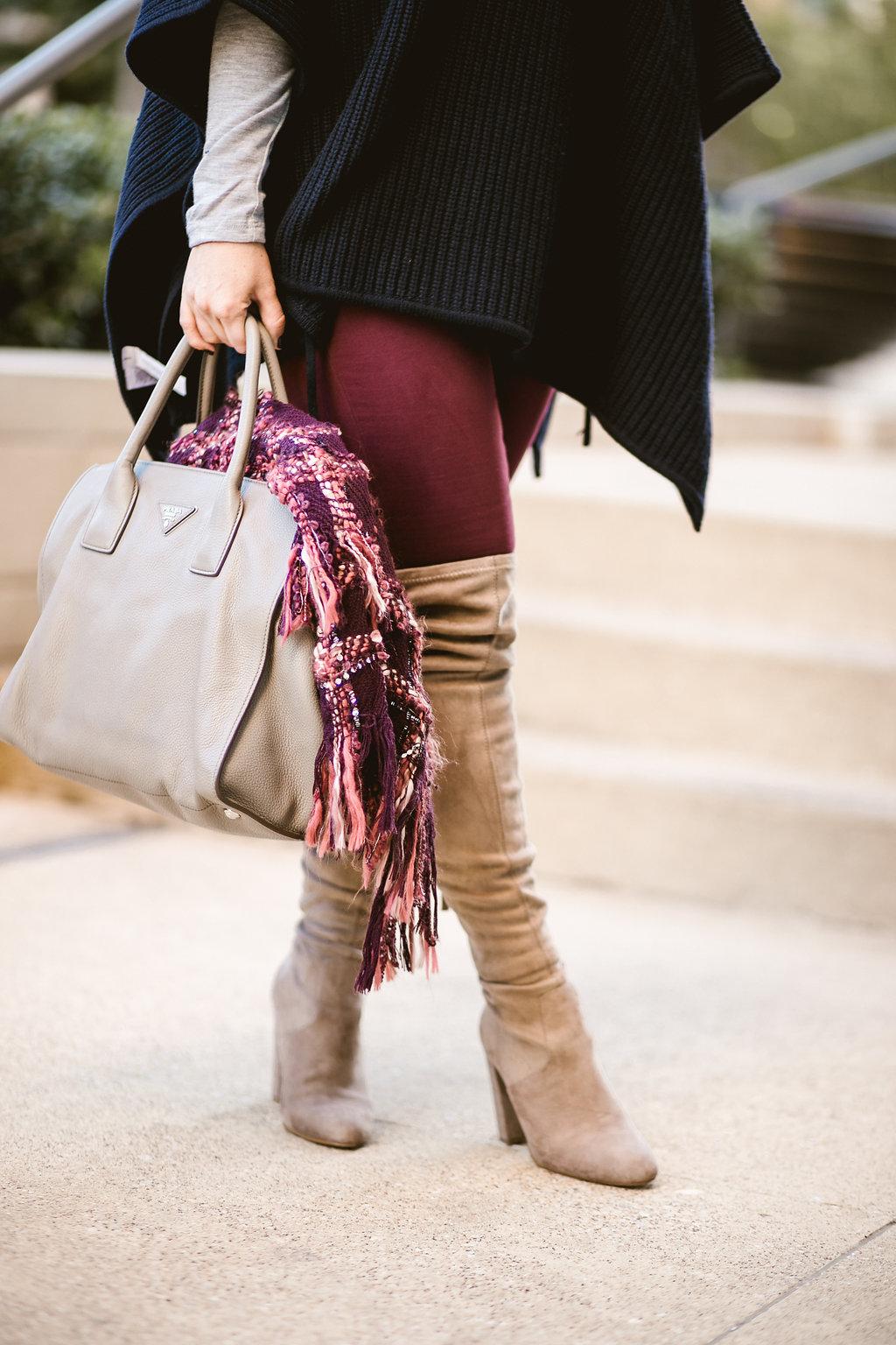 OTk Boots + Scarf | LOFT | Dallas