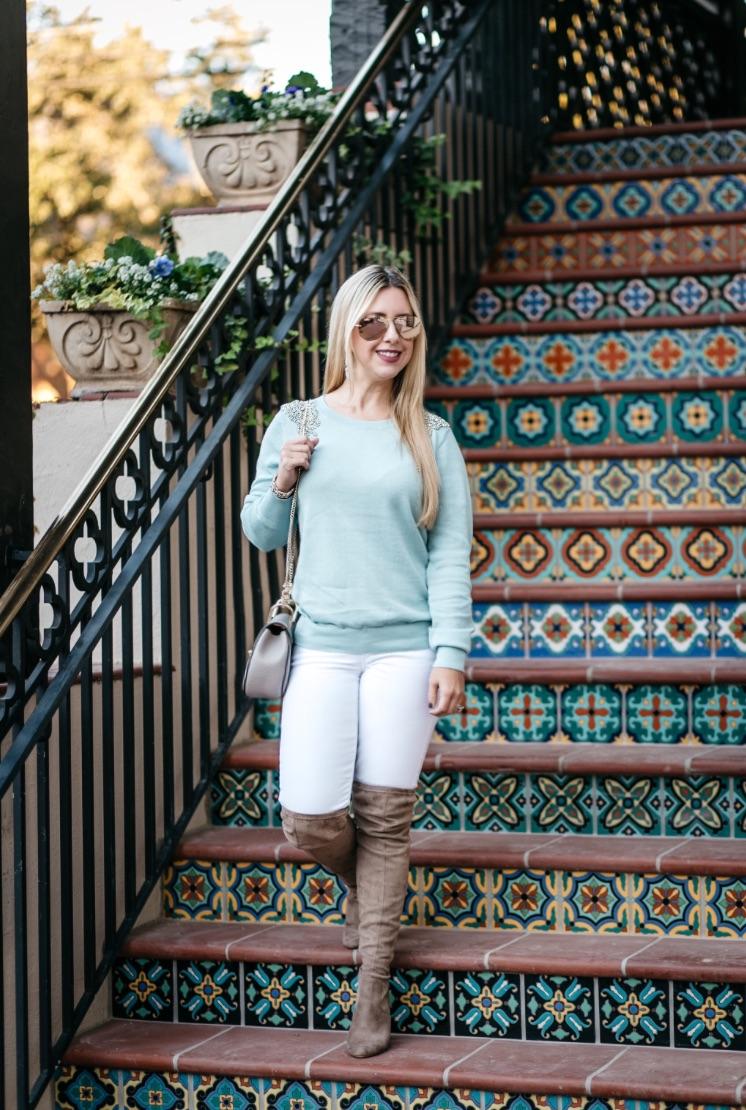 Embellished Sweater | Dallas Fashion | Blog