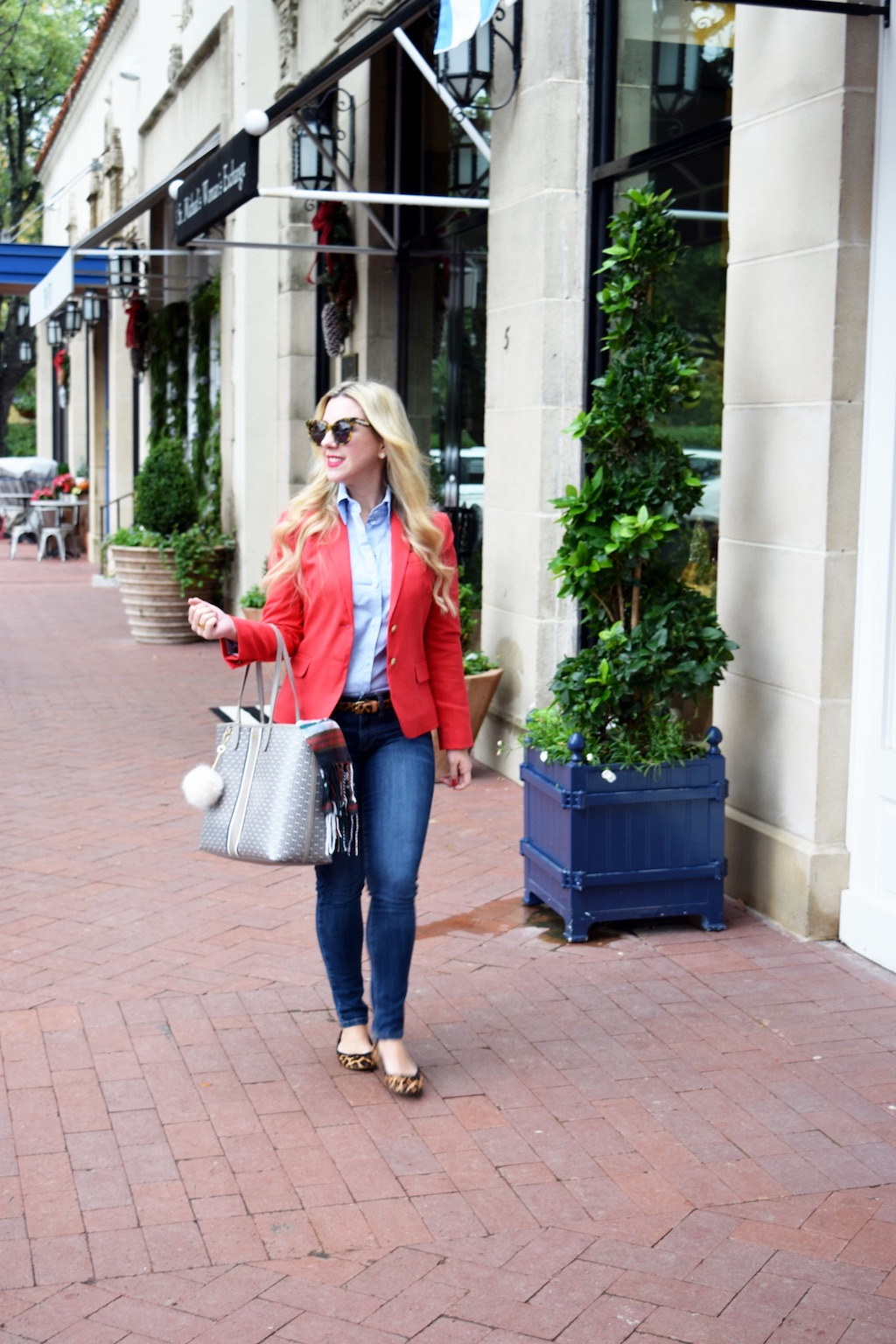 Blogger | The Darling Petite Diva | Schoolboy blazer