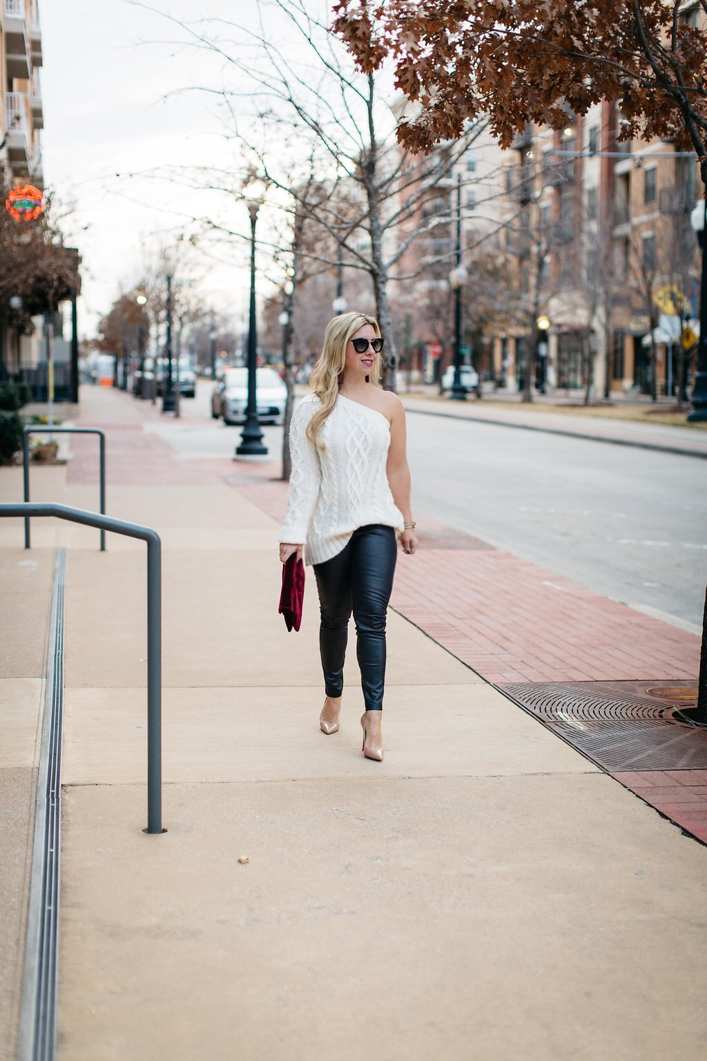 Cable Sweater - White