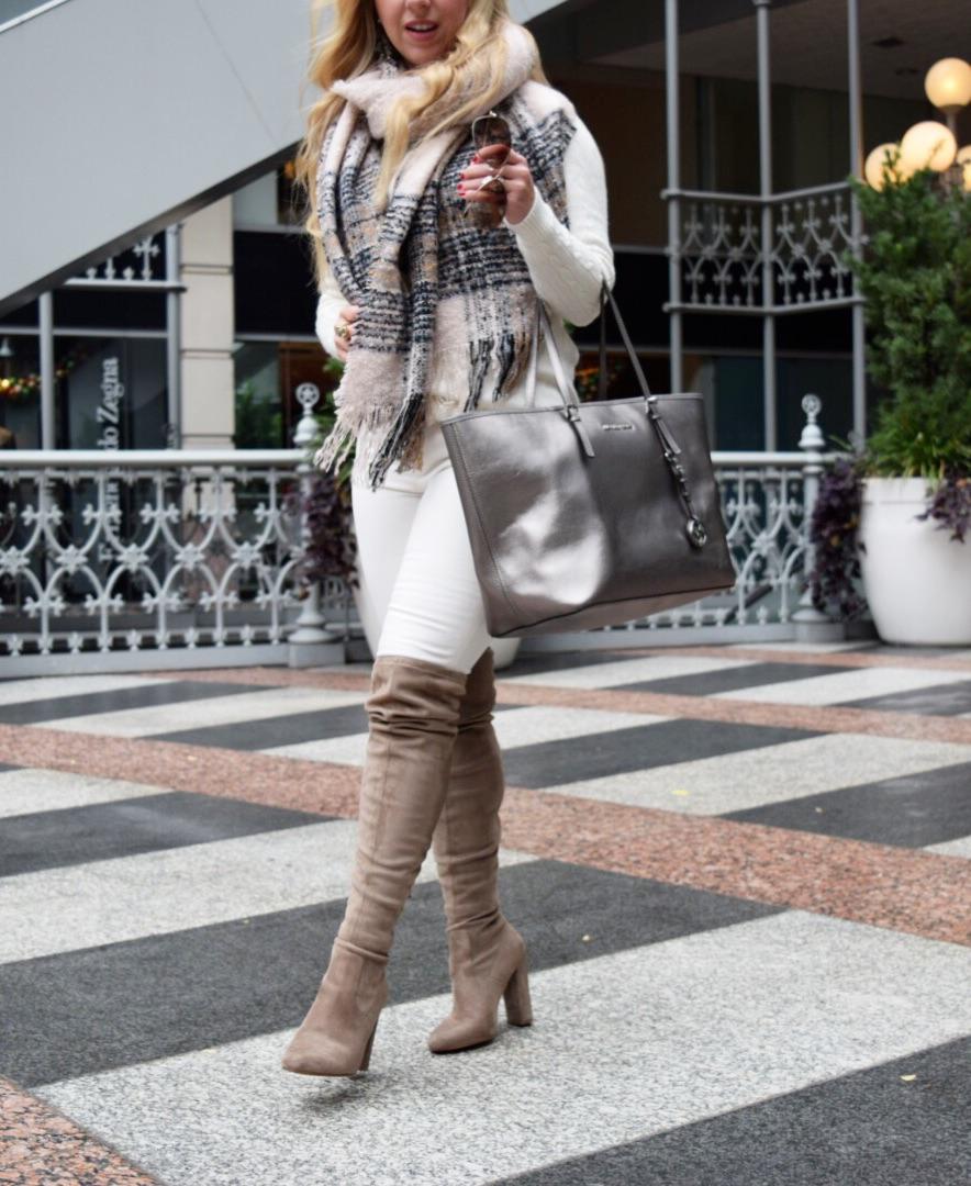 Winter White Look   Dallas Fashion