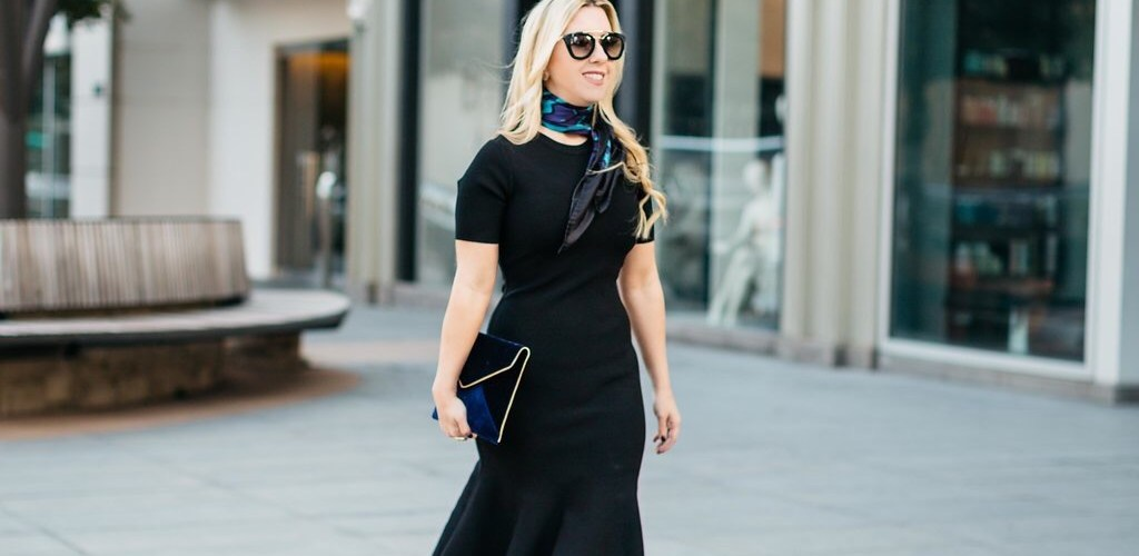 How To Style A LBD With Booties