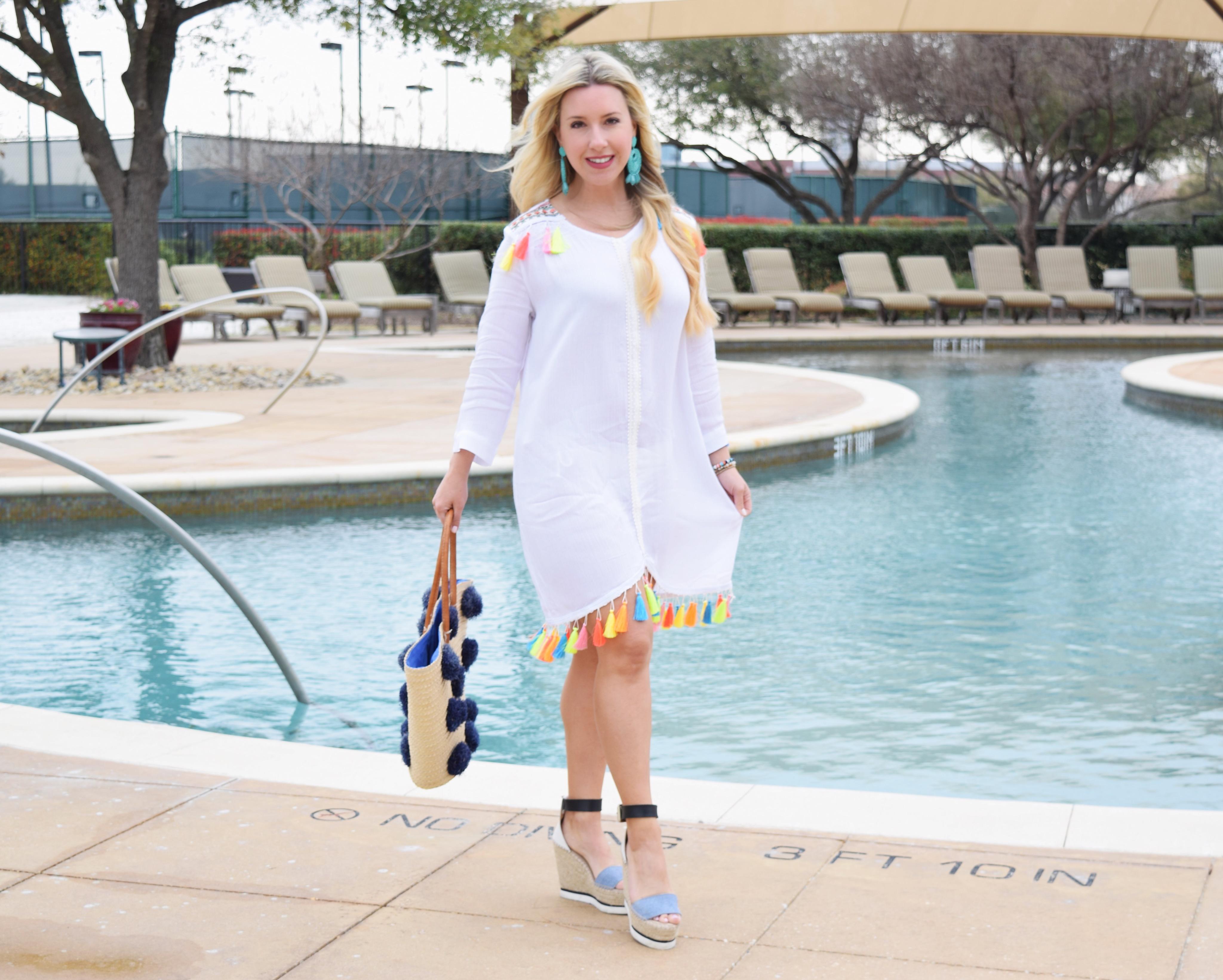 Spring Break Cover-Up's | The Darling Petite Diva | Nicole Kirk