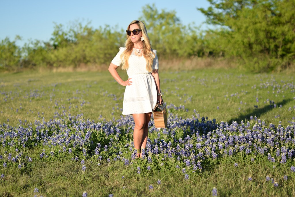 7 White Dresses To Wear For Easter | The Darling Petite Diva Nicole Kirk