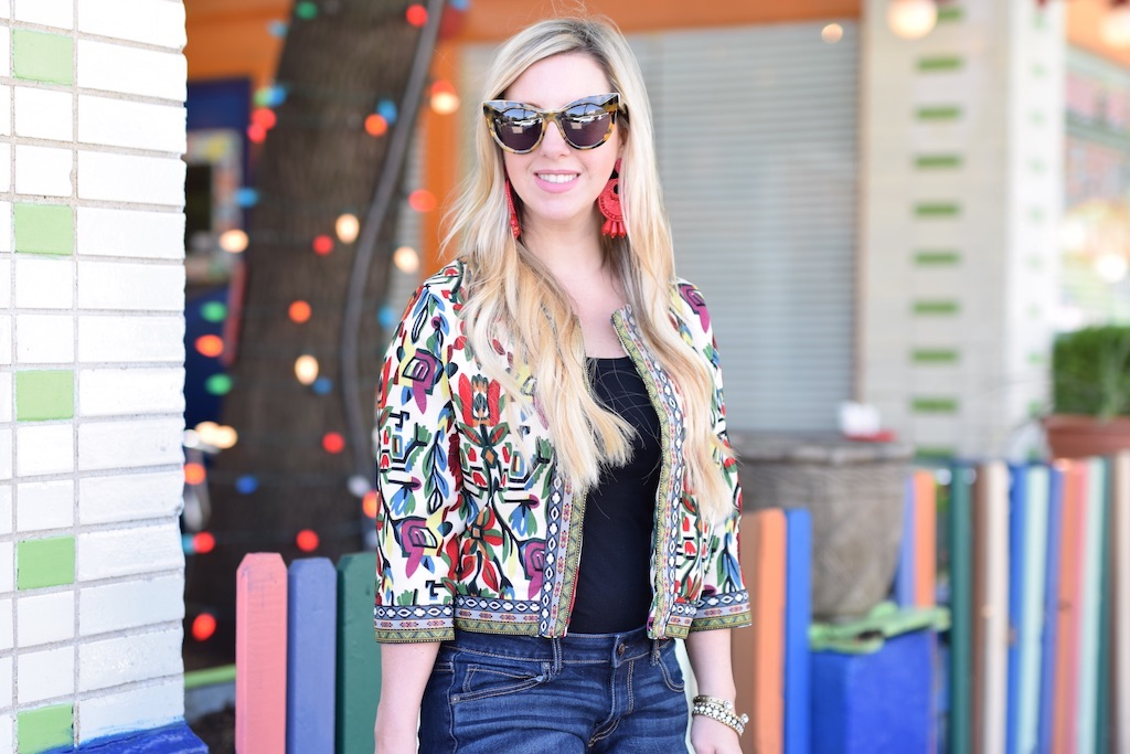 Tribal Print Jacket | The Darling Petite Diva | Nicole Kirk