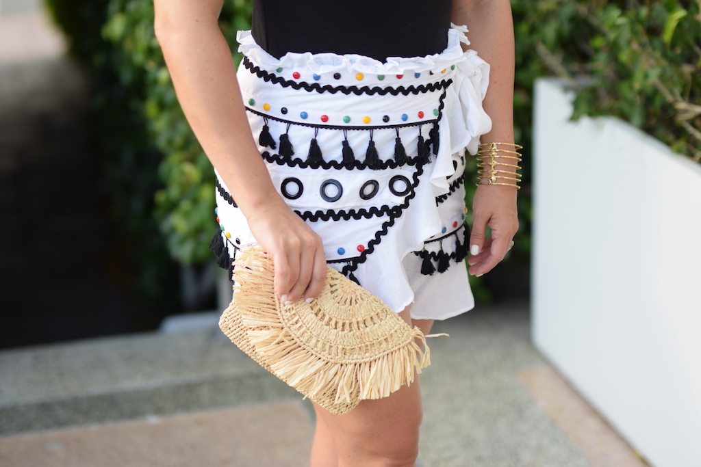 Tassel Skirt | The Darling Petite Diva | Dallas Blogger