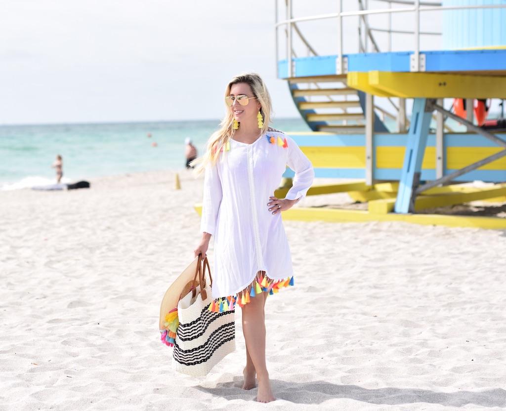 Designer Dupe Scalloped Bikini | The Darling Petite Diva | Dallas Blogger | Nicole Kirk