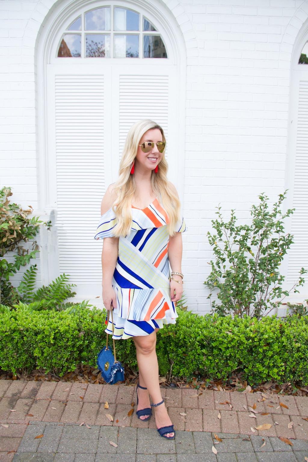 Summer Stripes | The Darling Petite Diva | Nicole Kirk