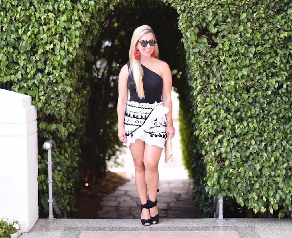 Tassel Skirt   The Darling Petite Diva   Dallas Blogger   Nicole Kirk