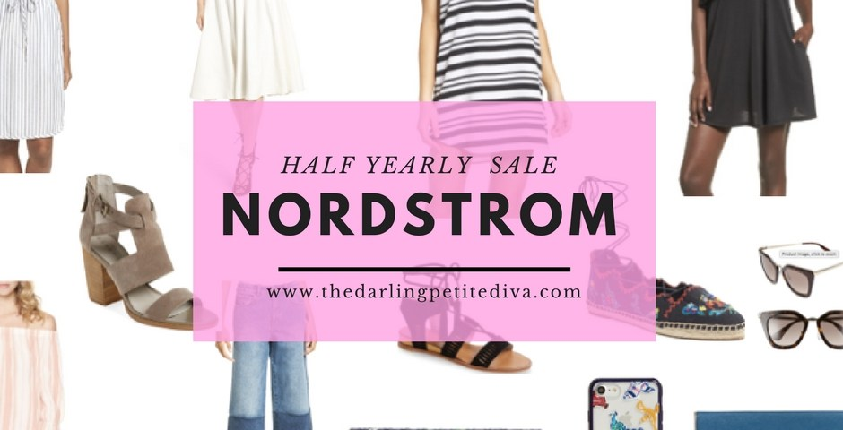 Nordstrom Half Yearly Sale | The Darling Petite Diva
