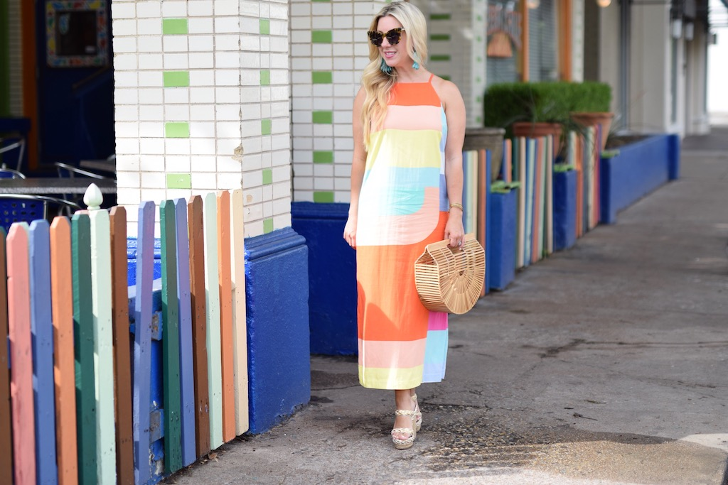 Geo Print Summertime Dress