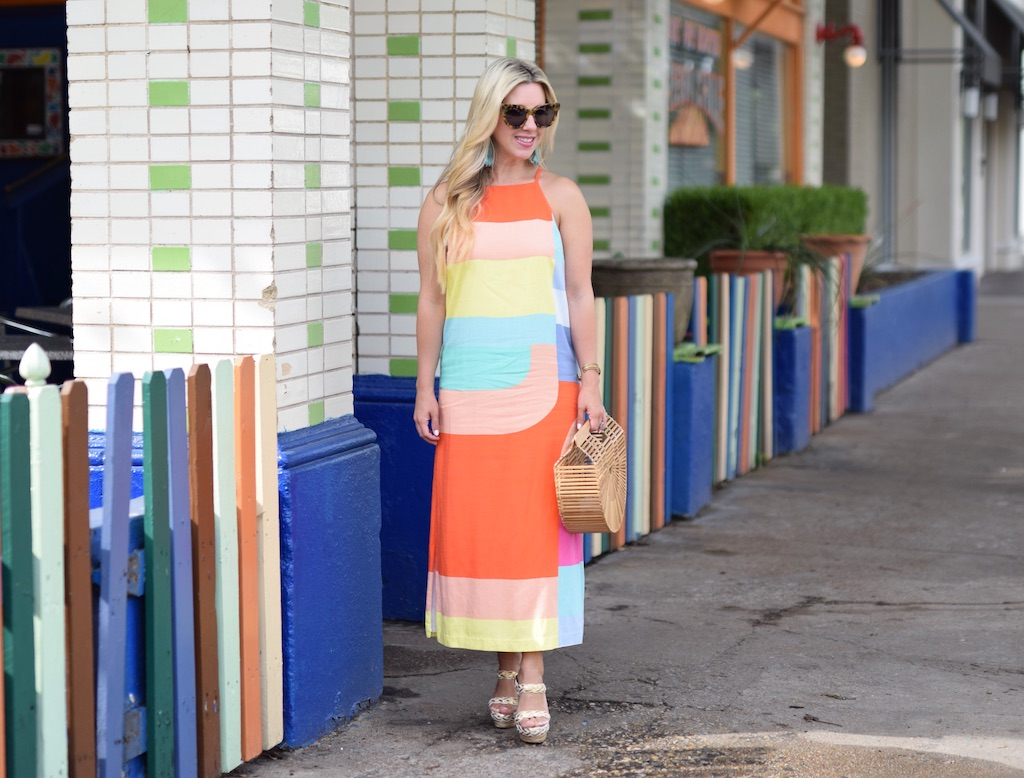 Geo Print Summertime Dress | Dallas Blogger | Nicole Kirk