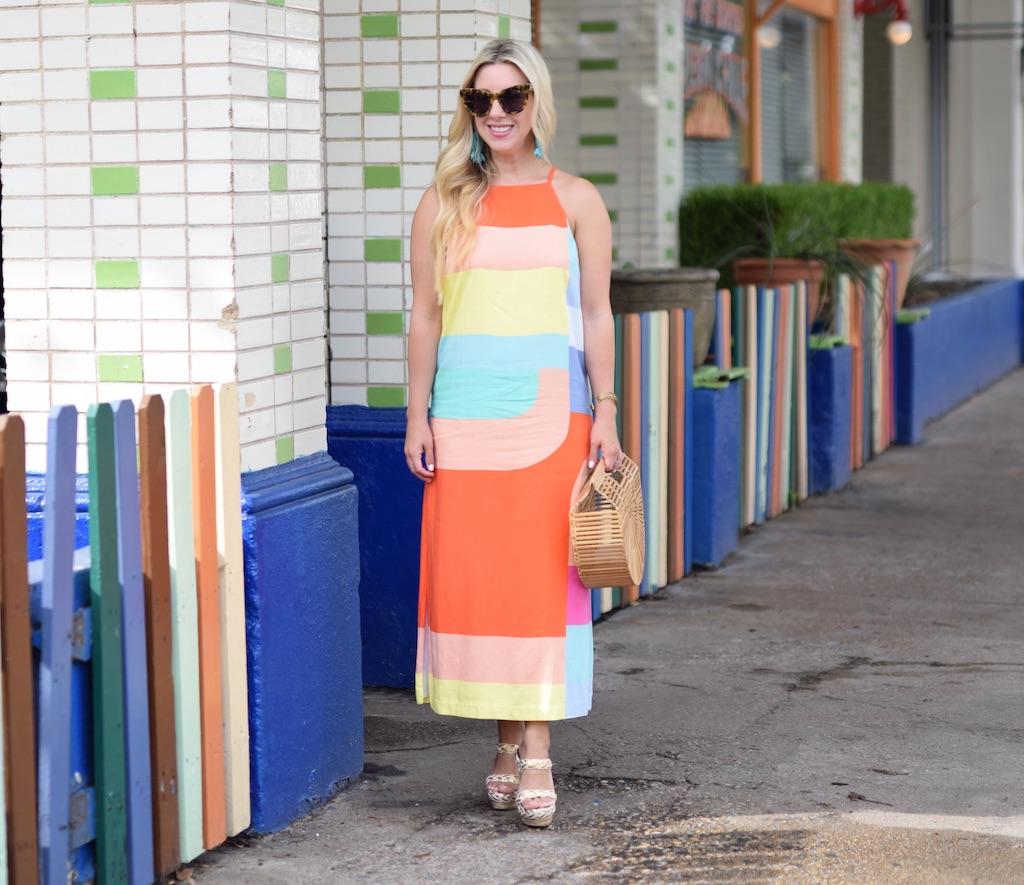 Geo Print Summertime Dress