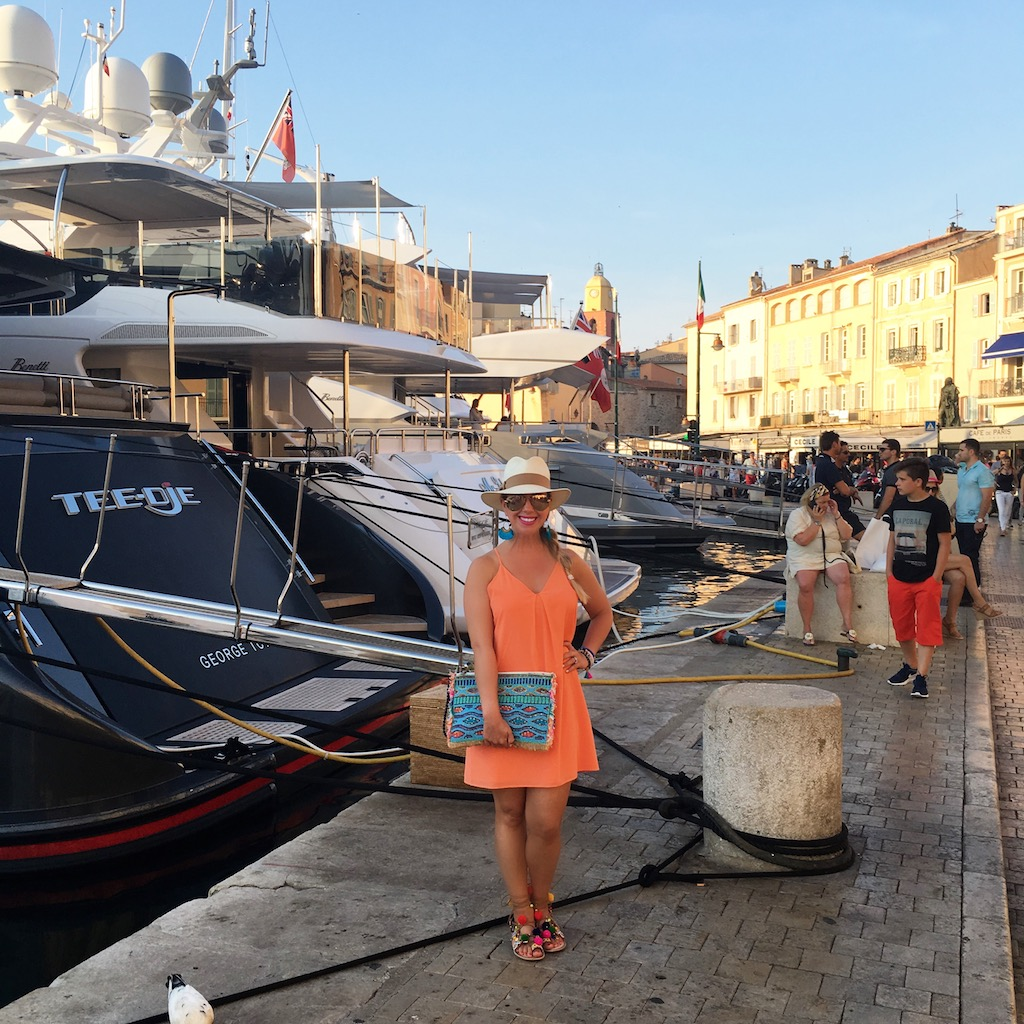 A Day In Saint Tropez ; The Darling Petite Diva, Nicole Kirk