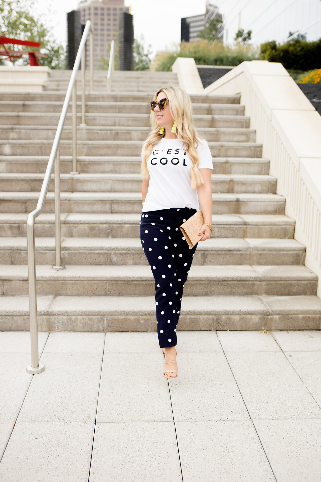 Fancy Pants, Workwear With A Twist | Polkadots | The Darling Petite Diva