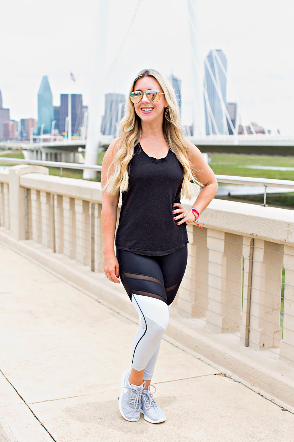 Color Blocked Workout Leggings