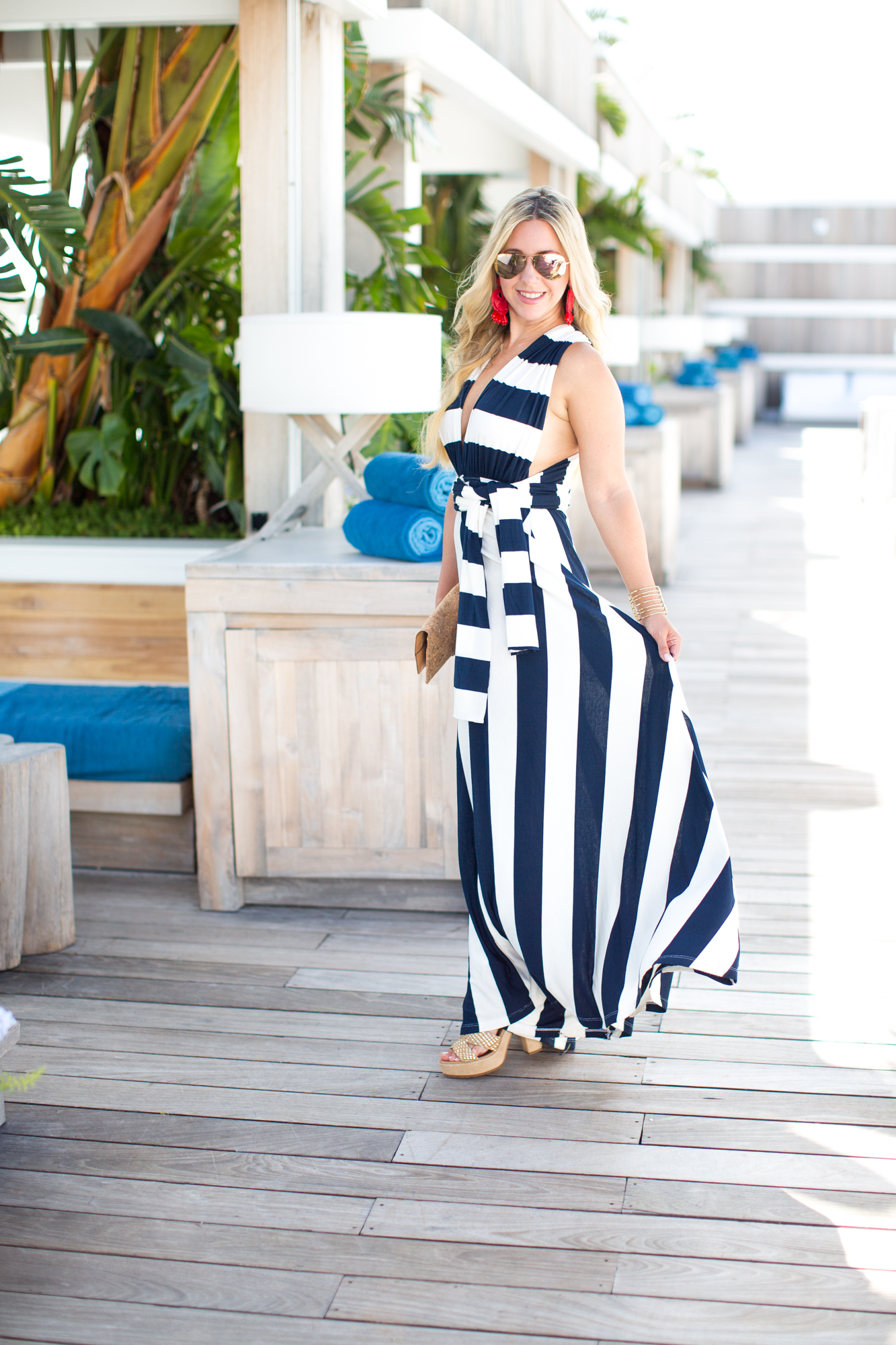 Nautical Striped Dress | The Darling Petite Diva | Nicole Kirk | Dallas Blogger