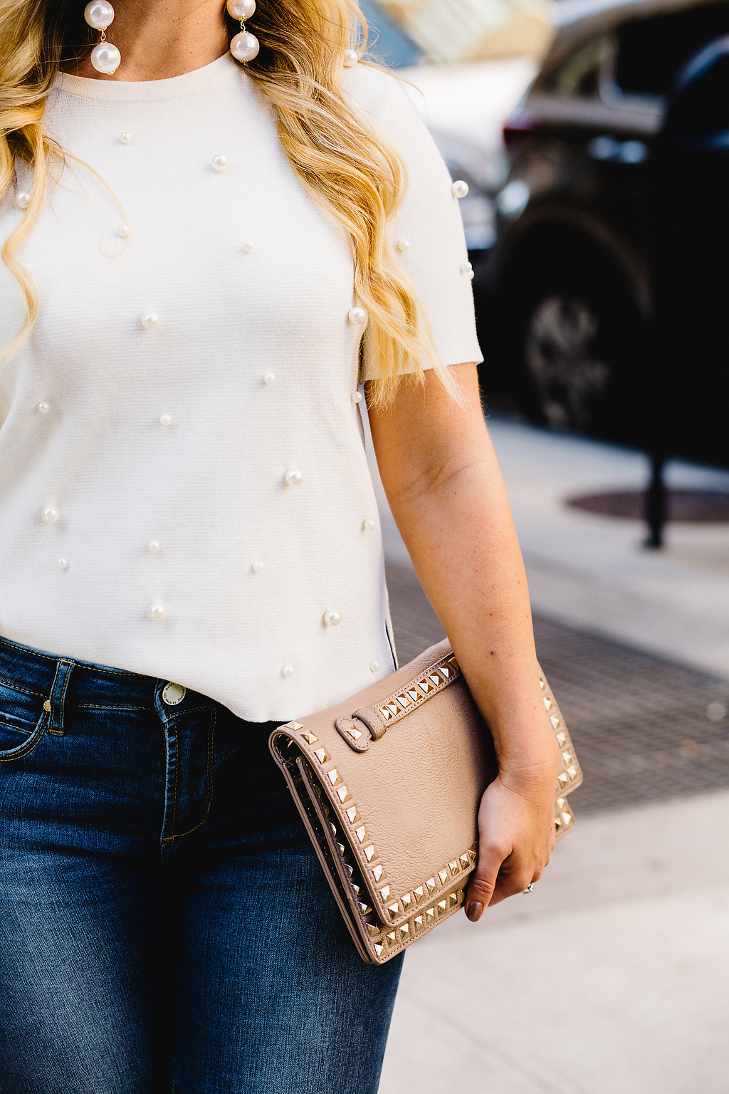 Pearl Embellished Top | The Darling Petite Diva | Fashion Week