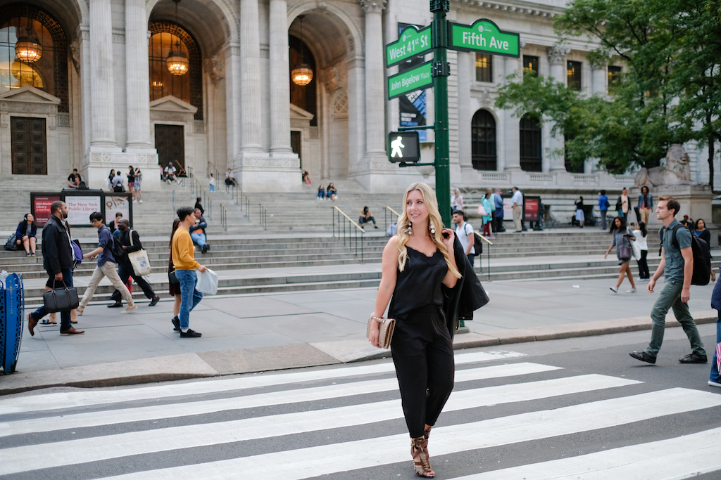 Jogger Pants | The Darling Petite Diva | New York Fashion Week