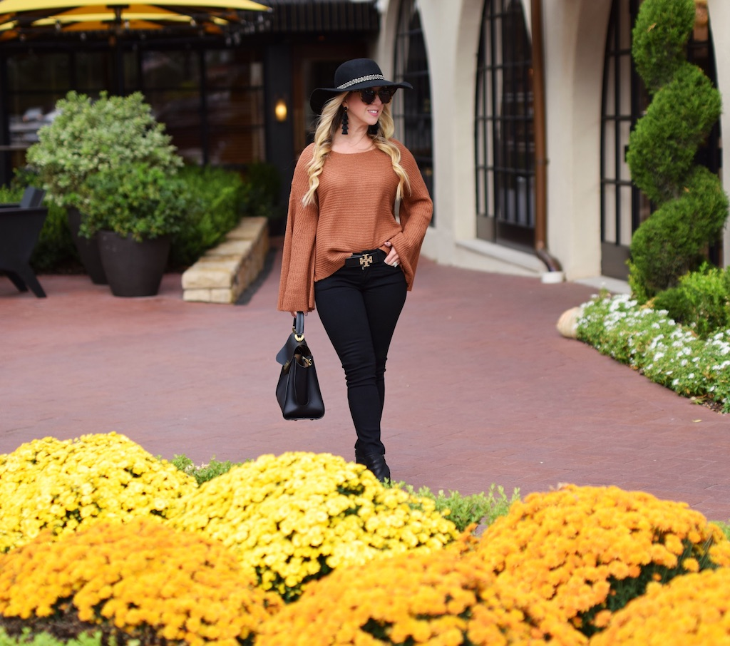 Flare Sleeve Sweater | Fall Look | The Darling Petite Diva