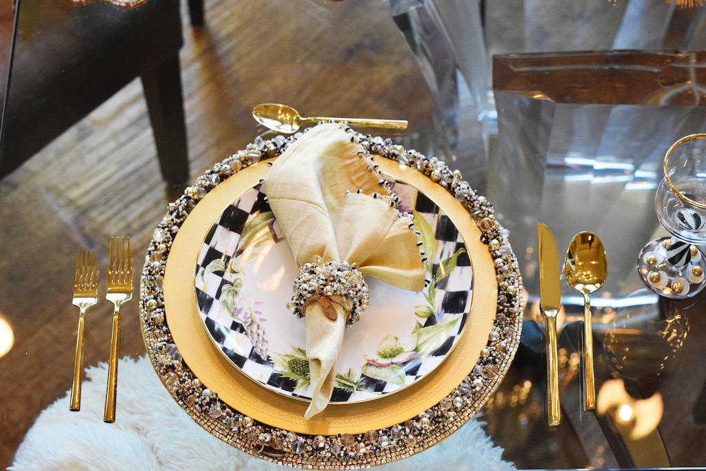MacKenzie-Childs Christmas Tablescapes   The Darling Petite Diva