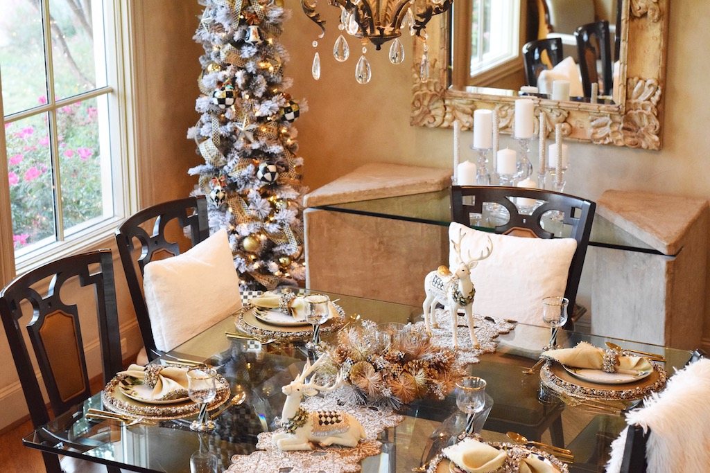 Mackenzie Childs Christmas Tablescapes The Darling Petite Diva