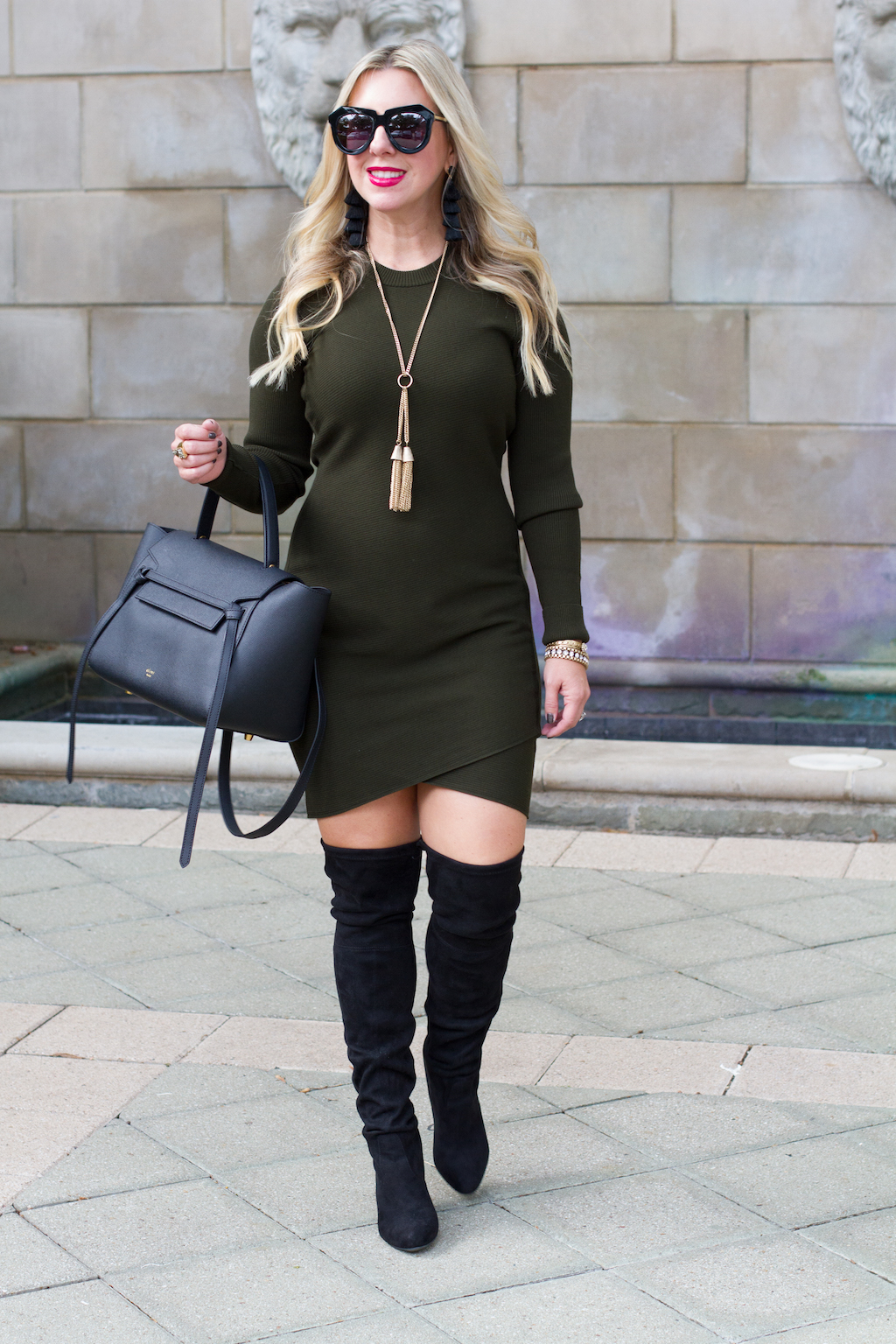 Sweater Dress | The Darling Petite Diva