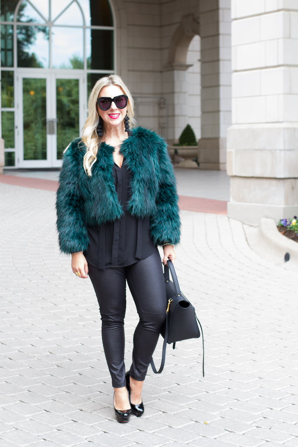 5 Faux Fur Coats For The Winter | The Darling Petite Diva | Winter Coat