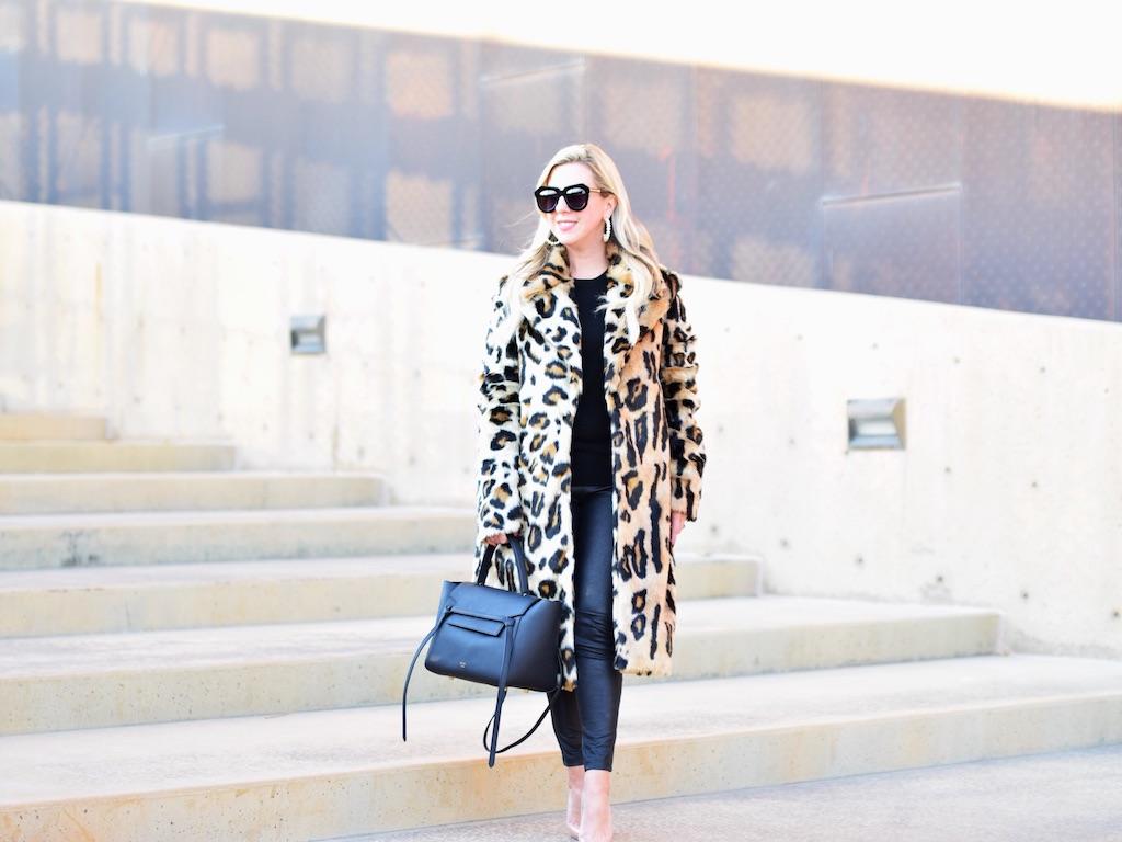 8 Faux Fur Leopard Coats | The Darling Petite Diva