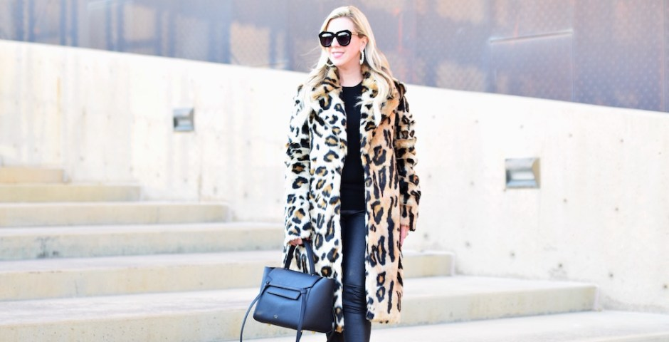 8 Faux Fur Leopard Coats | The Darling Petite Diva