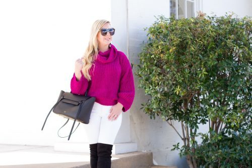 Cozy Chenille Cowl Neck Sweater | The Darling Petite Diva | Nicole Kirk