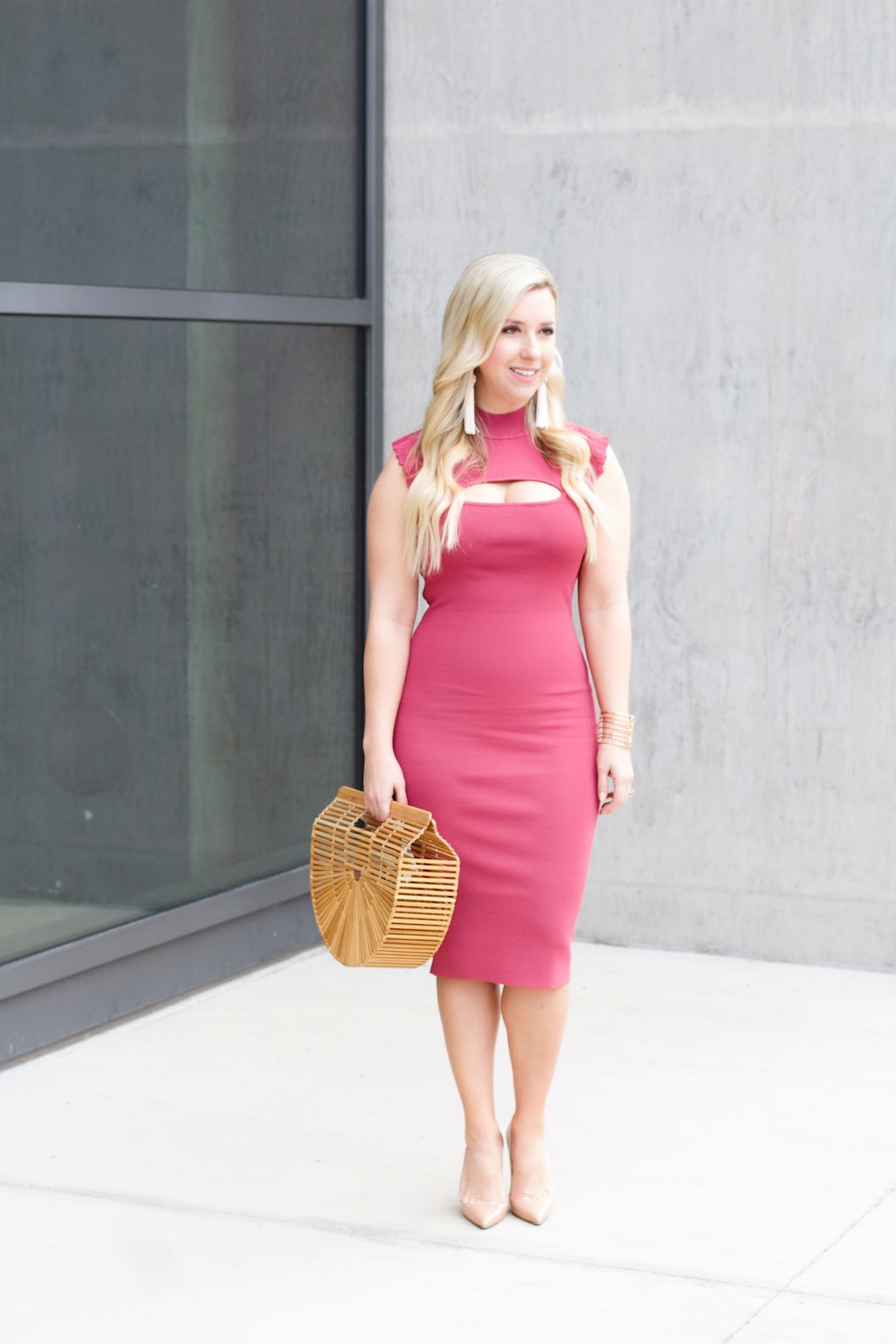 Spring Chic | Spring Dress | The Darling Petite Diva