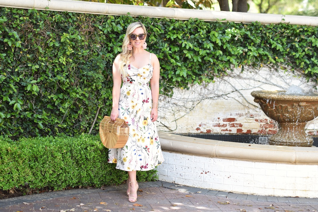 Floral Easter Dress | Spring Style | The Daling Petite Diva